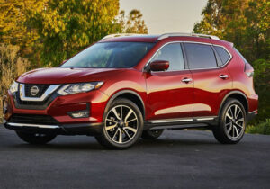 Nissan Rogue Front Side