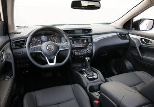Nissan Rogue Front Interior View