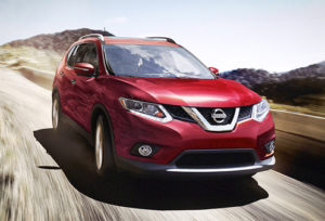 Nissan Rogue Front View